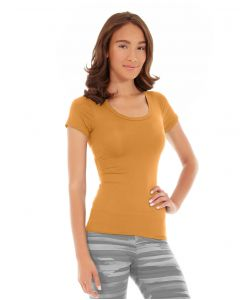 Desiree Fitness Tee-XS-Orange